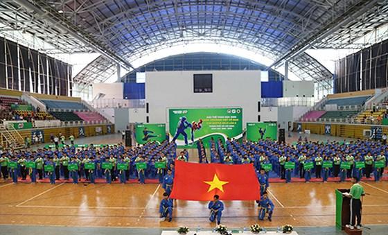 2018-2019学年胡志明市学生越武道大赛开幕