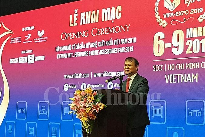 2019年越南国际家具及家具配件展览会正式开展