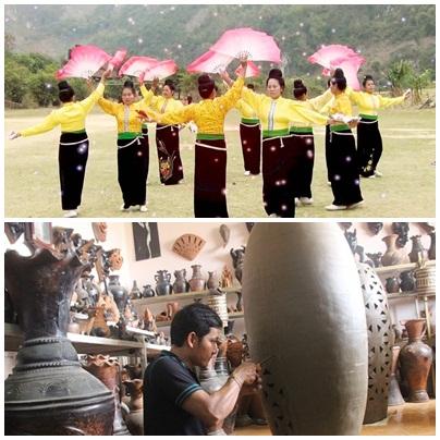 """""""傣族群舞艺术""""和""""占族瓷器制作艺术""""申遗"""