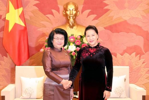 进一步加强越柬两国国会之间的合作