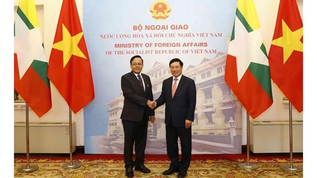 越缅双边合作混合委员会第9次会议在河内举行