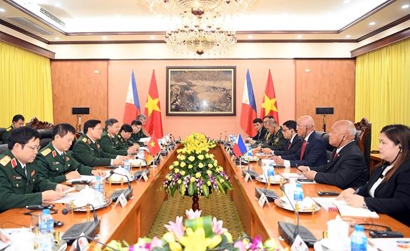 越南和菲律宾加强防务合作