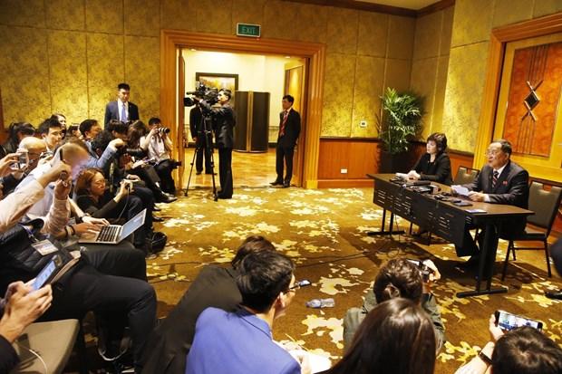 朝鲜在河内召开新闻发布会  就会晤结果表明朝方立场