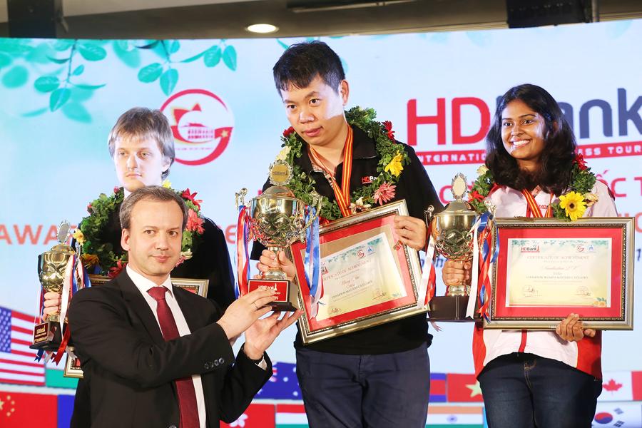 2019年HDBank国际象棋比赛:中国棋手王皓夺冠