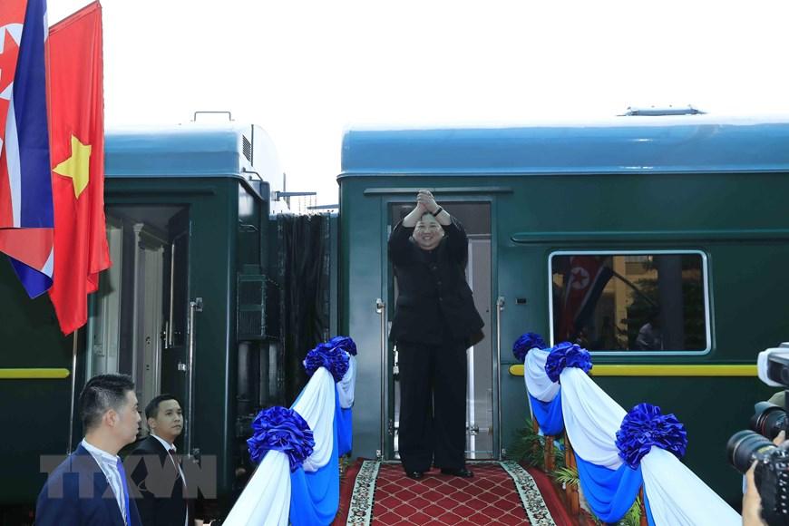 朝鲜最高领导人金正恩圆满结束对越南进行的正式友好访问