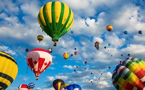 2019年顺化国际热气球节将于4月底举行