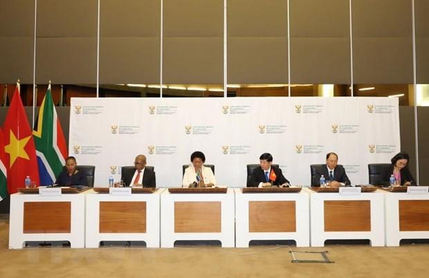 越南和南非加强友好与全面合作关系