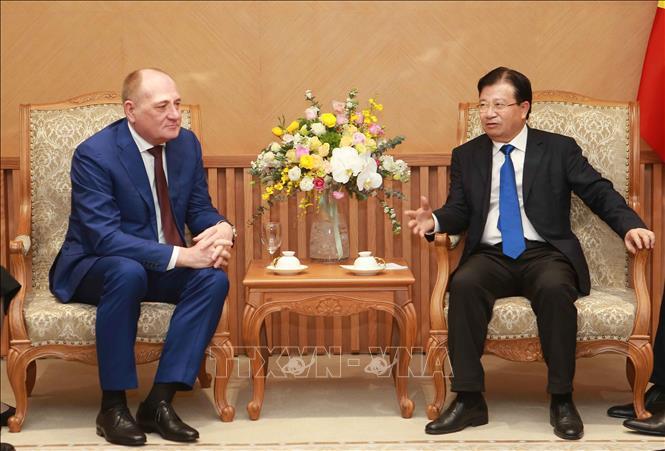 越南为俄罗斯Gazprom集团取得最佳业绩创造条件