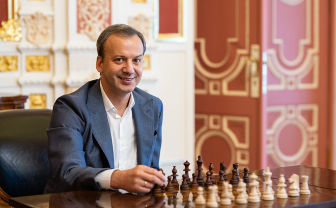 国际棋联主席德沃科维奇访问越南