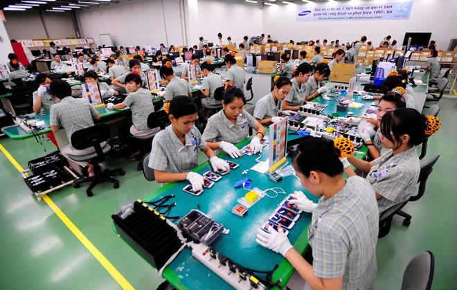 越南对以色列的手机出口额骤增