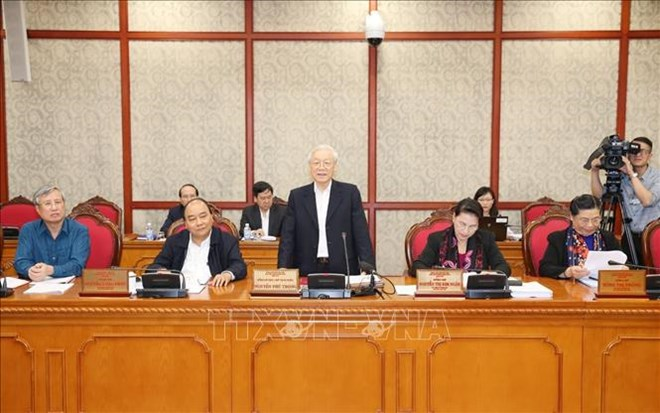 越共中央总书记、国家主席阮富仲:党建就是建设活动方式良好的组织和人员队伍