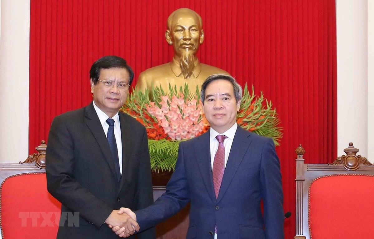 越南优先发展与老挝的特殊关系
