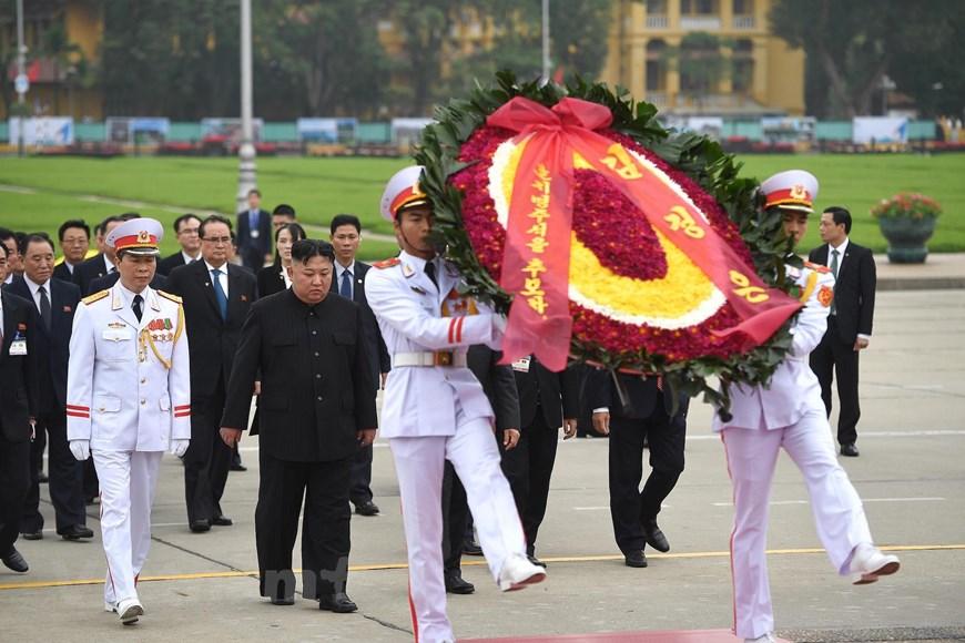 国际舆论高度评价朝鲜最高领导人金正恩对越南进行正式访问