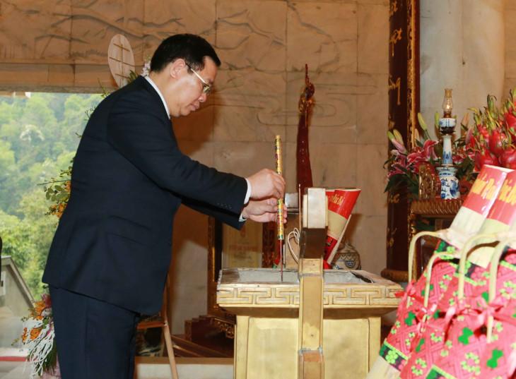 政府副总理王庭惠探望北坡国家级特殊历史遗迹
