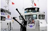 越中海警开展2019年首次北部湾共同渔区渔业海上联合检查行动