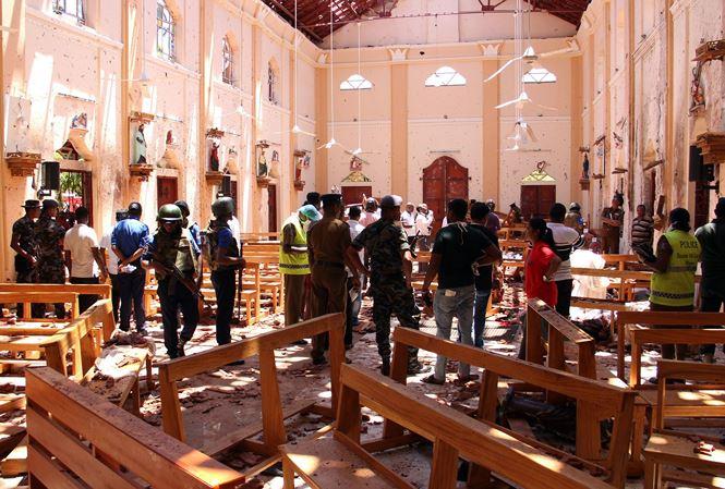 斯里兰卡连环爆炸致逾200人身亡