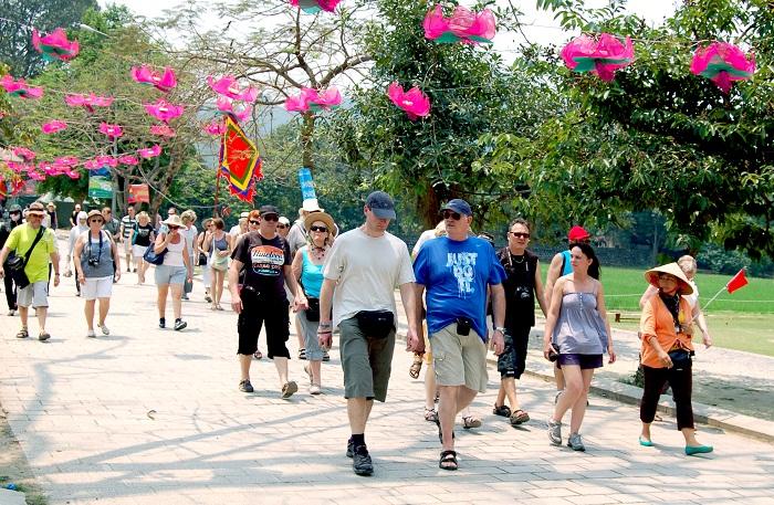赴越南旅游的国际游客量持续攀升