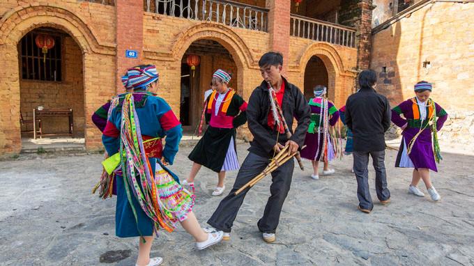 河江省同文岩石高原赫蒙族竽笙节举行在即
