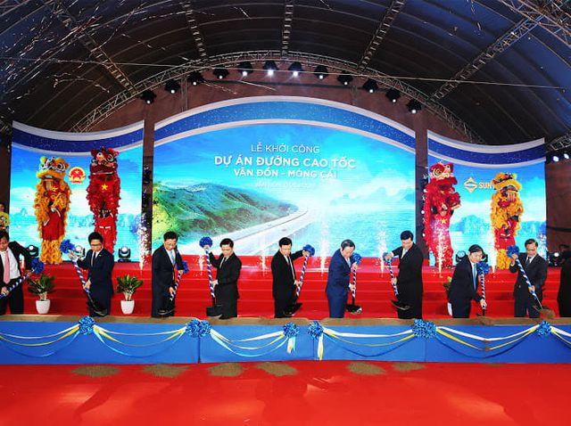 云屯-芒街高速公路正式动工修建