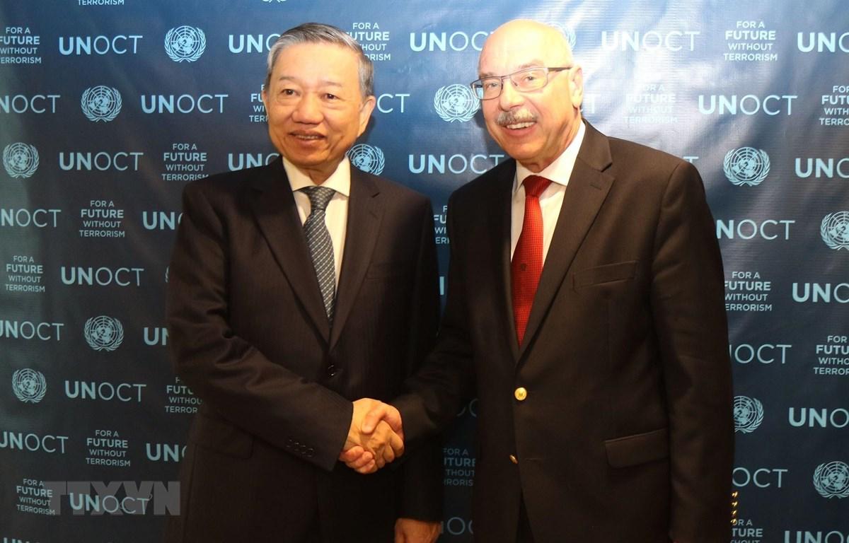 越南公安部部长苏林对美国进行正式访问