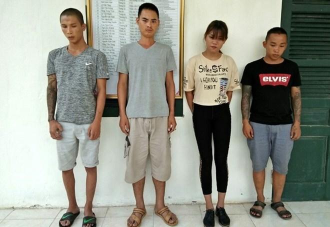在越中边境抓获 4名拐卖人口犯罪嫌疑人