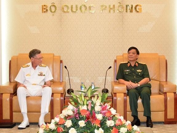 越南与澳大利亚加强防务合作