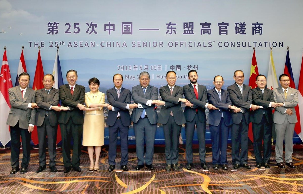 越南参加东盟-中国高官磋商会