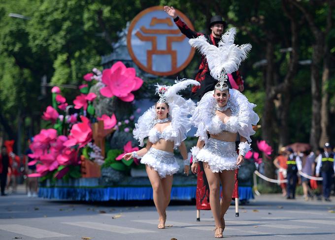 河内市第二次街头狂欢节精彩亮相