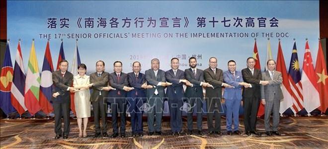 越南出席落实《东海各方行为宣言》第十七次高官会