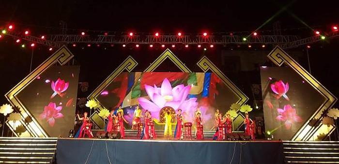 2019年金莲村文化节在义安省举行