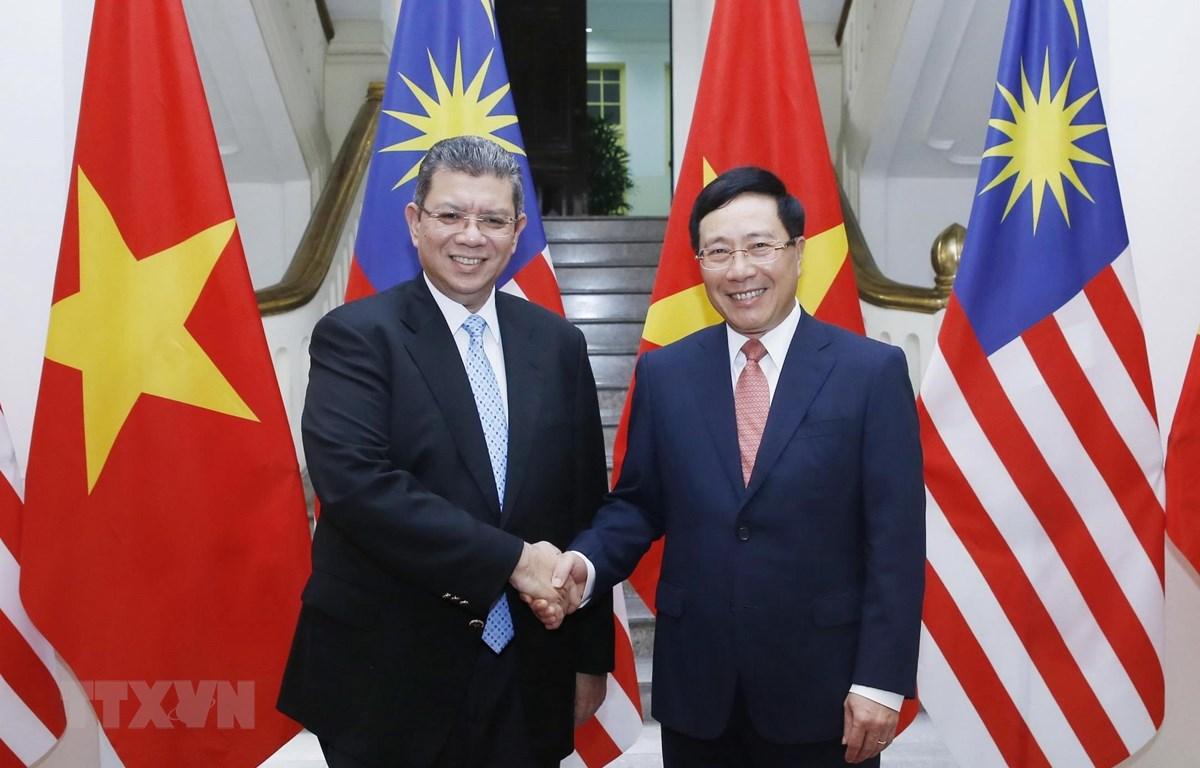 越南和马来西亚力争2020年两国贸易额突破150亿美元大关