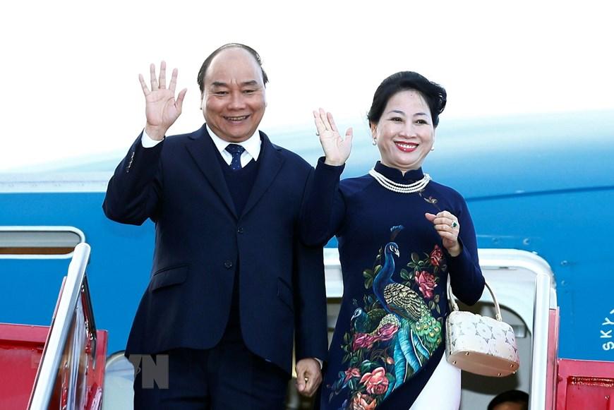 政府总理阮春福抵达奥斯陆 开始挪威访问之行