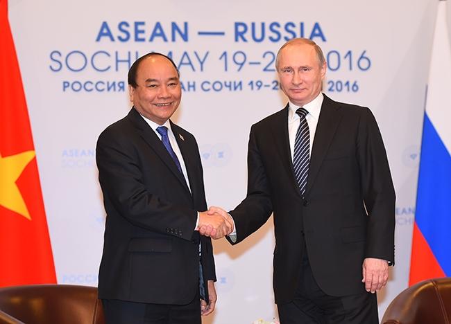 阮春福总理对俄罗斯进行正式访问:重视越俄战略伙伴关系