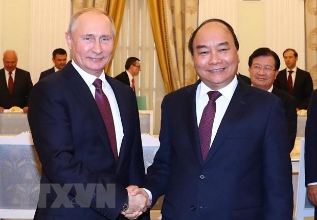 越南十分重视越俄全面战略伙伴关系