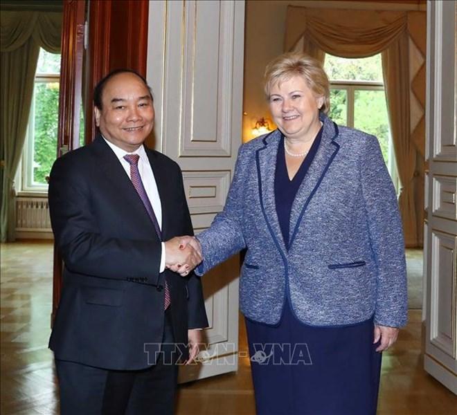 政府总理阮春福:挪威是越南在北欧的重要伙伴