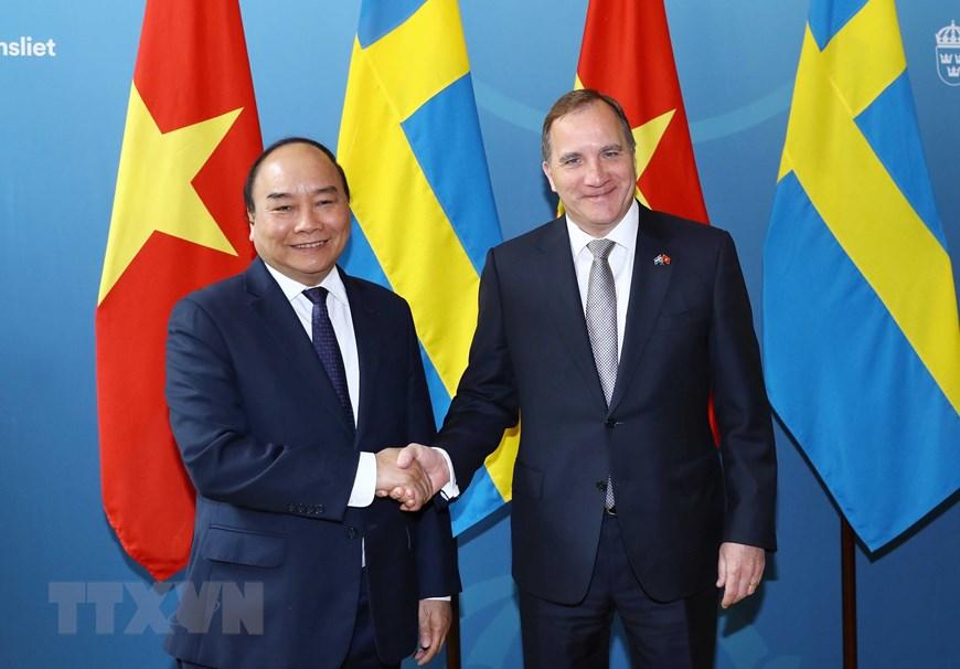 越南重视越瑞传统友好合作关系