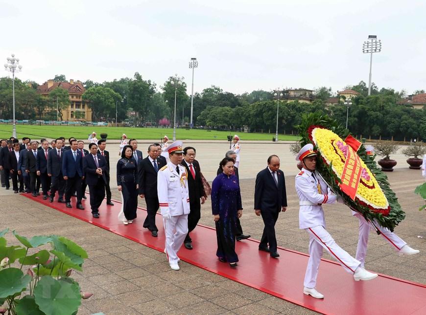胡志明主席诞辰129周年纪念活动纷纷举行