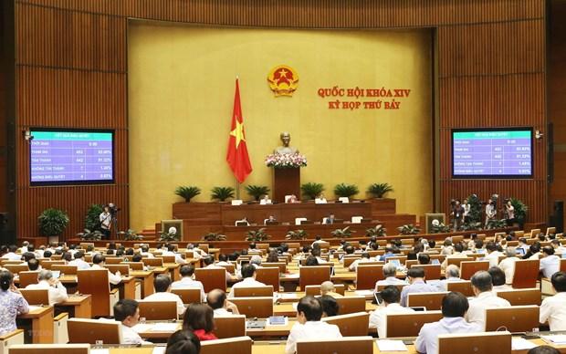 越南第十四届国会第七次会议今日闭幕