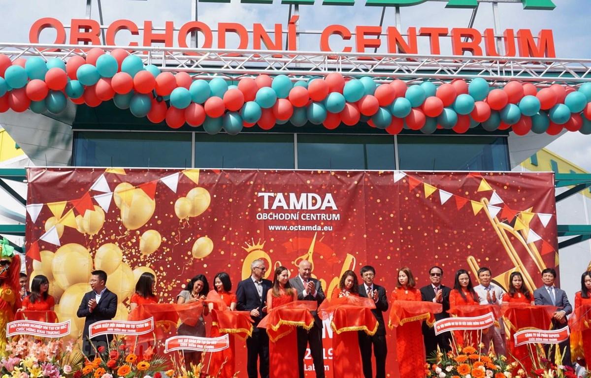 在捷克越南TAMDA贸易中心揭牌成立