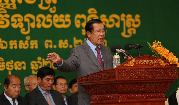 柬埔寨首相谴责新加坡总理发表有关越南和柬埔寨的错误讲话
