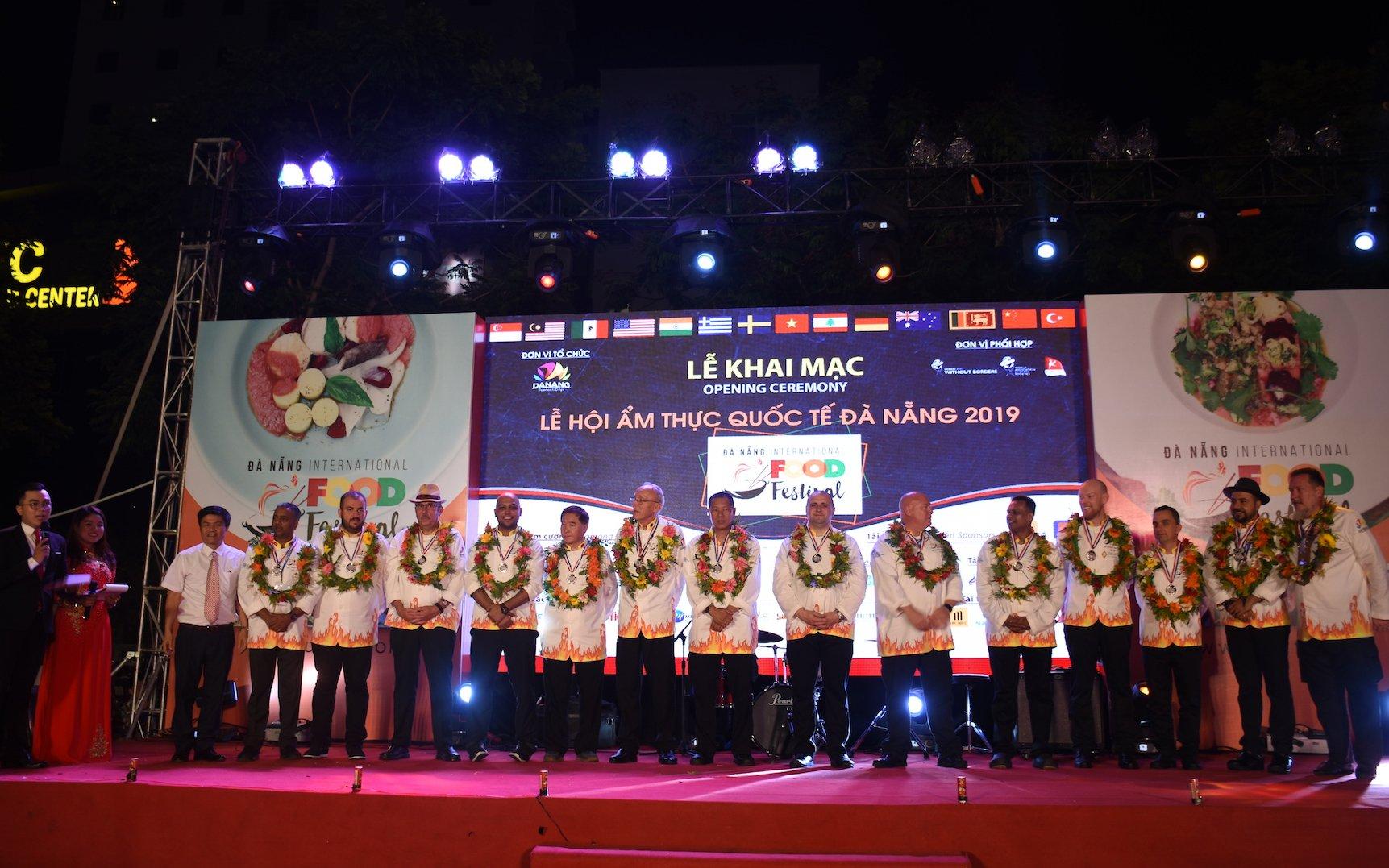 2019年岘港国际美食节开幕