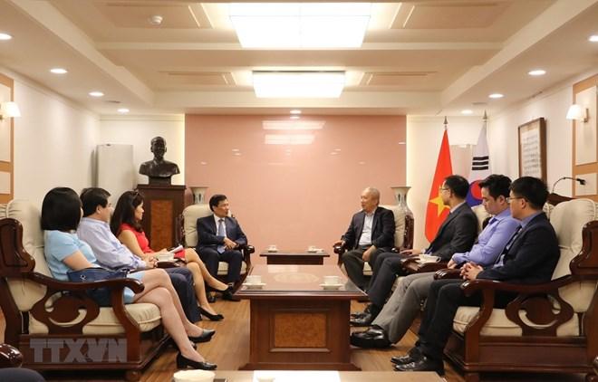 越南与韩国加强文体旅游领域的合作