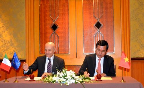 越南与意大利签署2019-2022年阶段教育合作行动计划