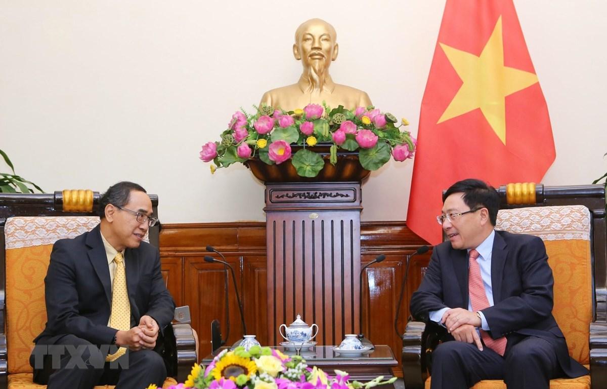 越南和泰国继续展开各项双边合作机制