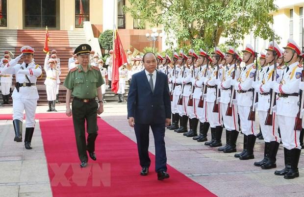 阮春福总理:人民公安力量应当好党和国家的参谋助手。