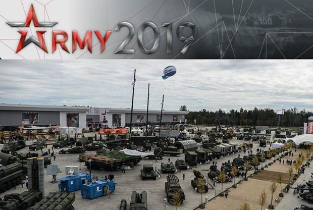 """越南参加俄罗斯""""军队-2019""""国际军事技术论坛"""