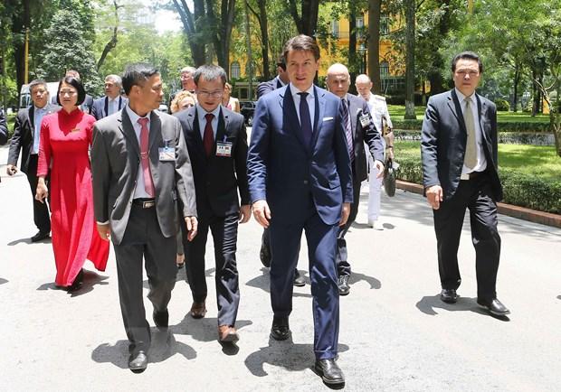 意大利总理结束对越南进行的正式访问