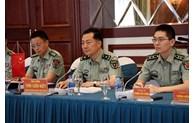 越中两军加强科研合作