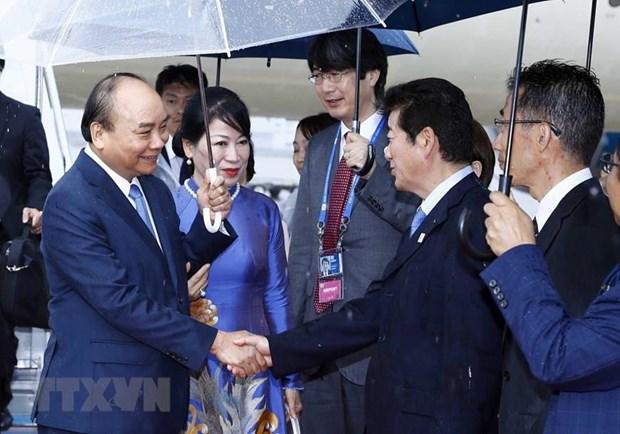 阮春福总理就出席G20峰会和访日之行接受日本媒体采访