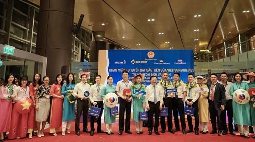 越南云屯至韩国首尔直达航线开通